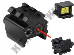 Red Dot Laser Sight Handgun Pistol Metal with Weaver Rail Mount